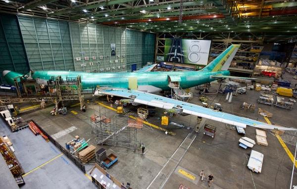 Boeing 747 under construction