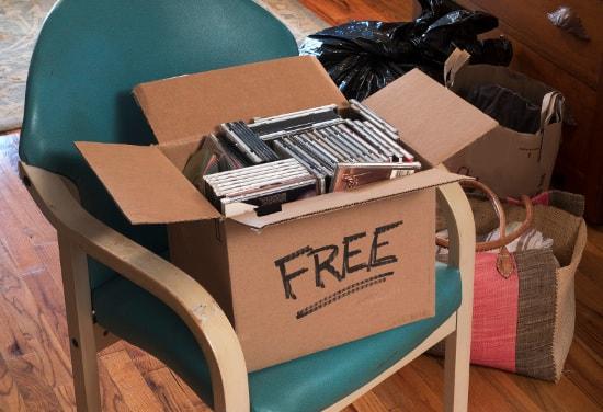 Free yard sale items