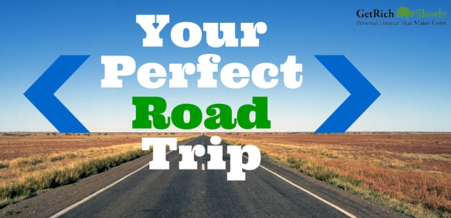 Photo Illustration of a Summer Road Trip