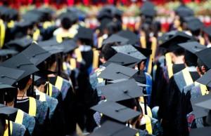 Picture of college graduates