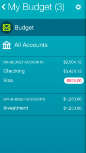 YNAB app screenshot