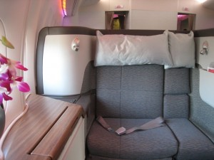 TravelSort- Cathay Pacific First Class Seat
