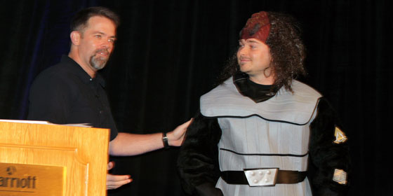 Using a Klingon to talk about the value of story