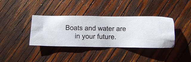Boats and water are in your future.