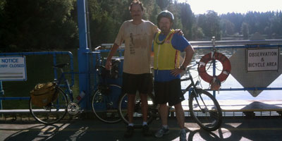 J.D. and Jeff Yeager, geeky bicyclists