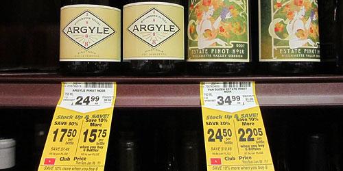 Hunt for wine bargains!