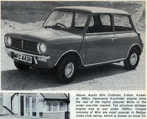 [photo of the 1972 Mini Clubman]