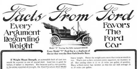 [ad for Ford motorcars]