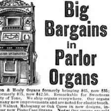 [ad for parlor organ]