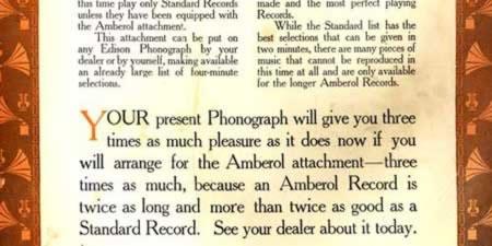 [ad for Edison Phonographs]