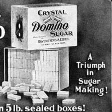 [ad for Domino Sugar]