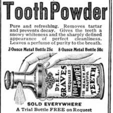 [ad for Dr. Graves' tooth powder]