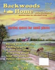 magazines (and websites) about homesteading and self sufficiency