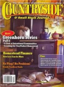 magazines (and websites) about homesteading and self sufficiencycountryside