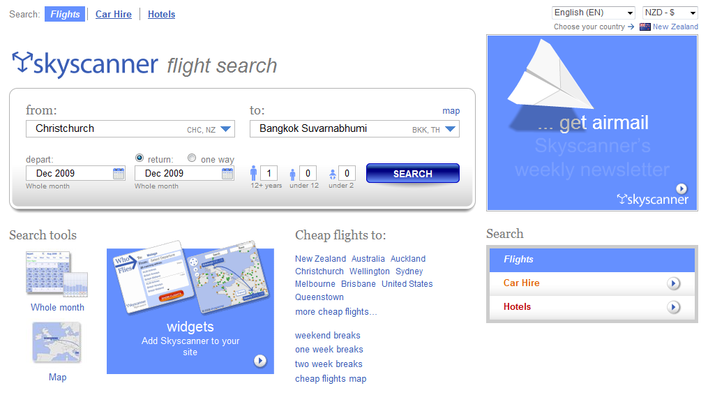 Image gallery online airline booking sites for Best booking site for flights