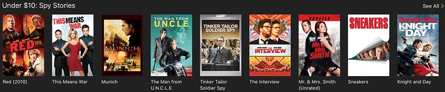 iTunes: Spy Stories