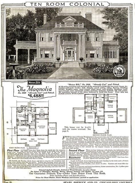 Sears kit home: The Magnolia