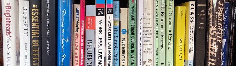 Shelf of Money Books