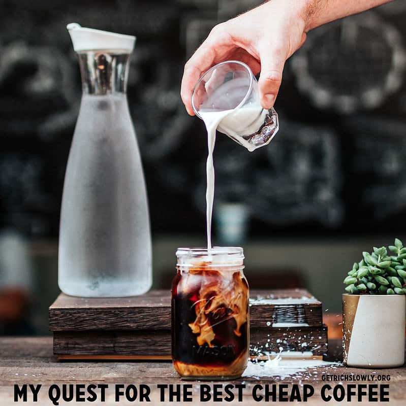 Beating The Latte Factor: My Quest For The Best Cheap Coffee