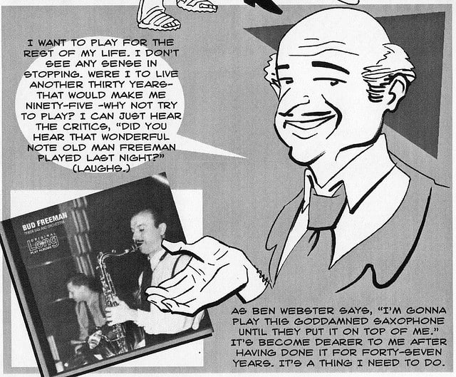Bud Freeman, Jazz Musician