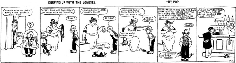 Keeping Up with the Joneses (04 April 1913)