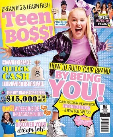Teen Boss magazine