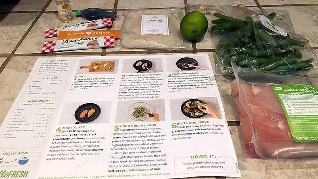 HelloFresh Recipe and Ingredients