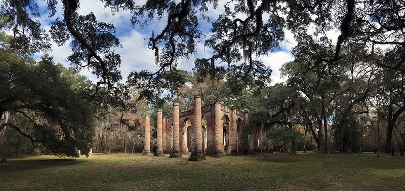 Church Ruins between Savannah and Charleston