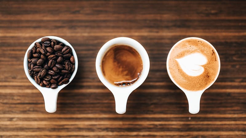 Three Stages of Coffee