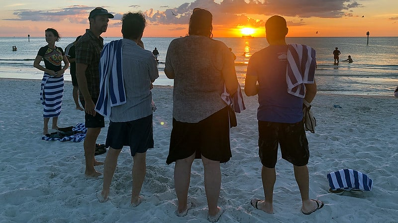 Sunset in Clearwater