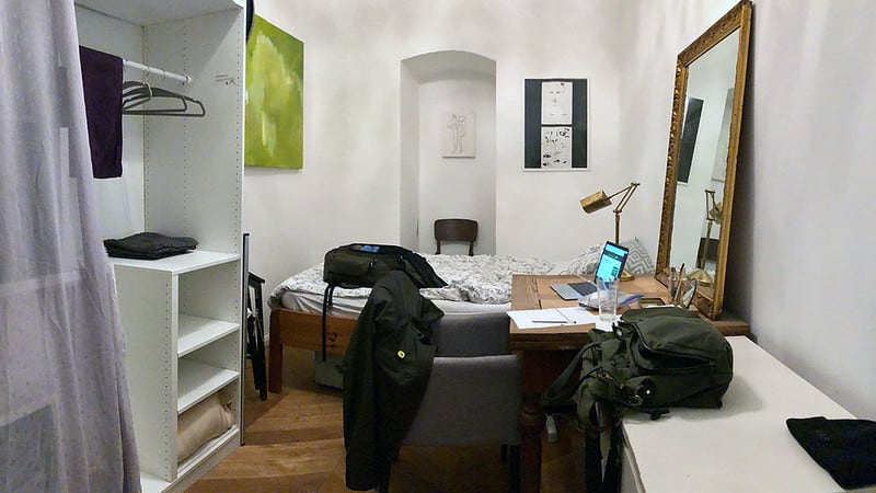 J.D.'s Airbnb room in Vienna
