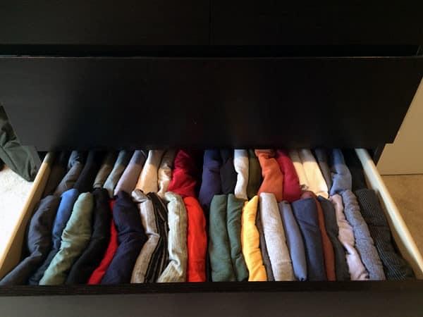 Tidied Shirts