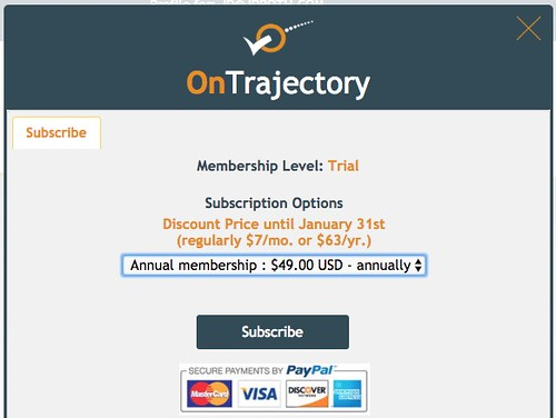 OnTrajectory pricing