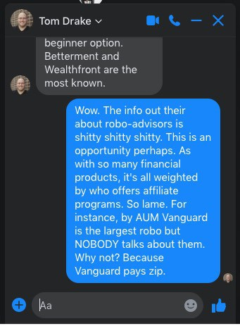 A chat about robo-advisors