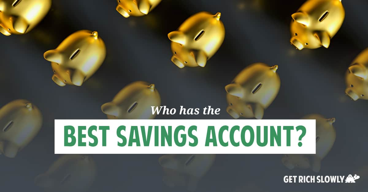 Who has the best savings account in 2020?