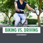 Biking to work is a healthier alternative to driving car, but how much money do you save on commuting costs? Check out this new calculator.
