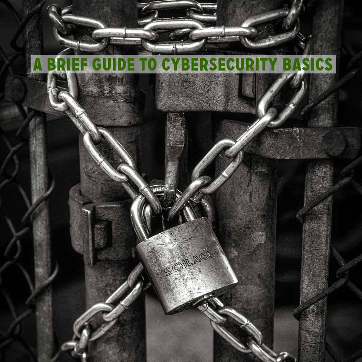 A brief guide to cybersecurity basics
