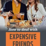 How do you deal with friends who having different spending priorities than you do? This post has a few strategies you might want to try.
