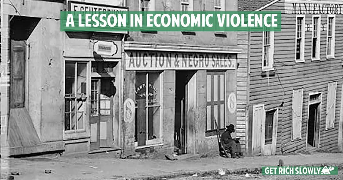 A lesson in economic violence