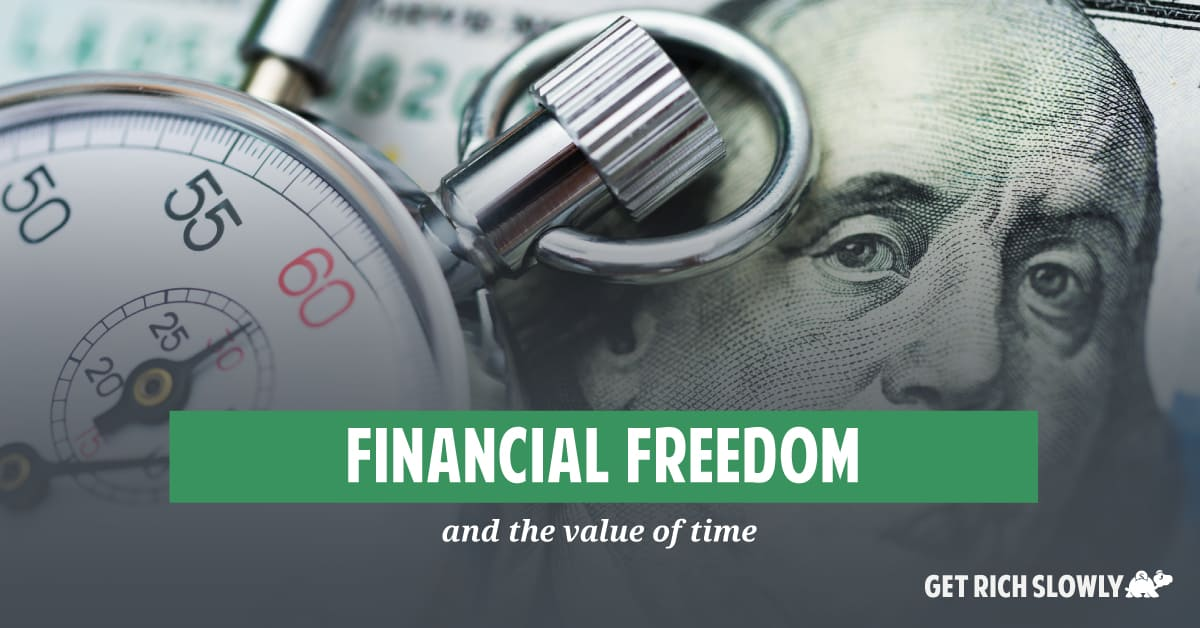 Financial freedom and the value of time
