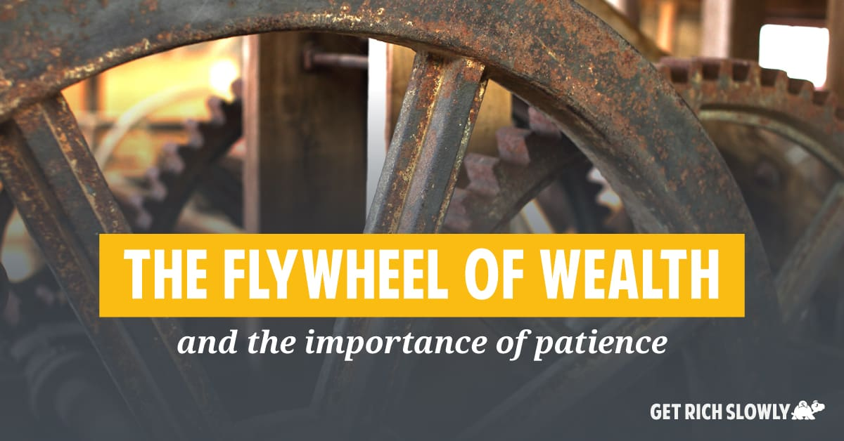 The flywheel of wealth (and the importance of patience)