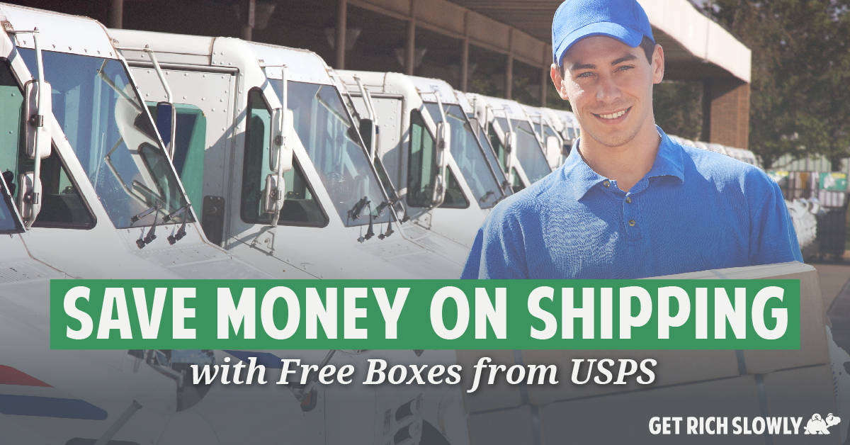 Save money on shipping with free boxes from USPS