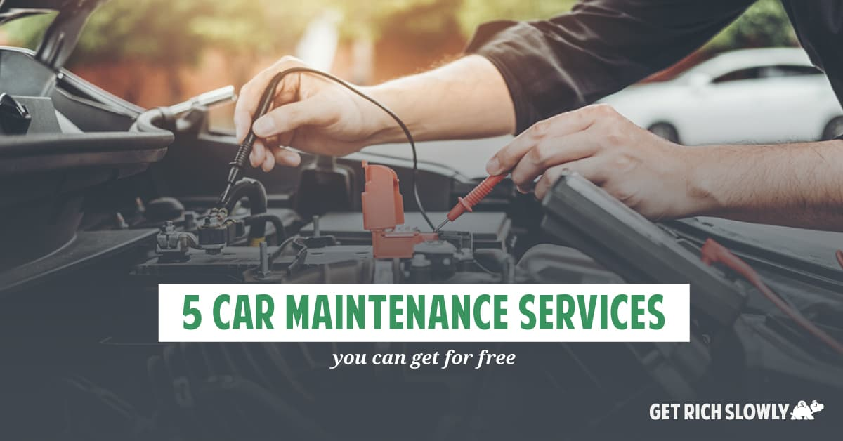 5 car maintenance services you can get for free