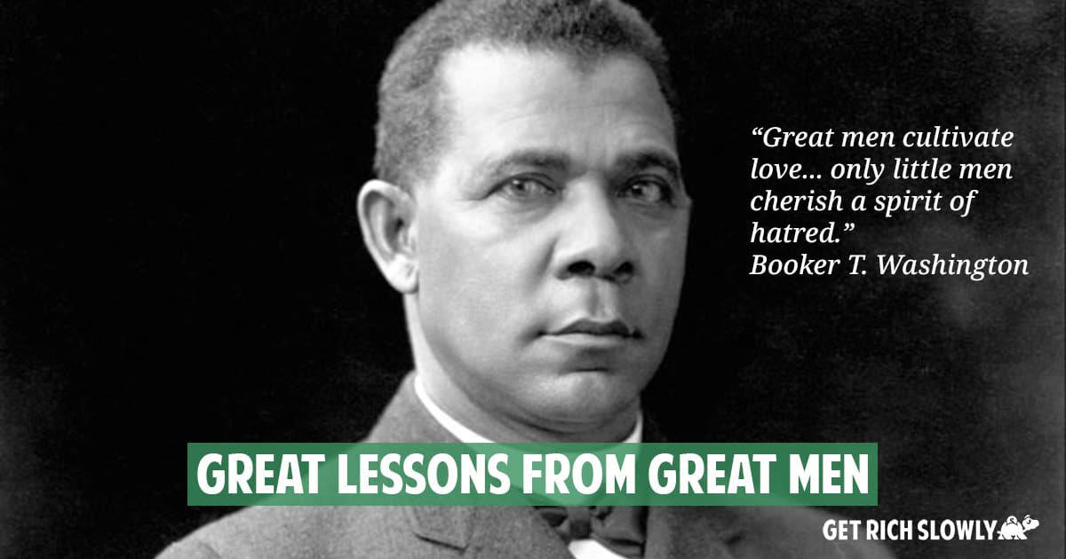 Great lessons from great men