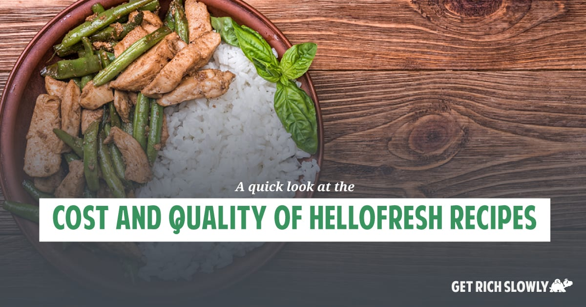 Two months with HelloFresh: A quick look at the cost and quality of HelloFresh recipes