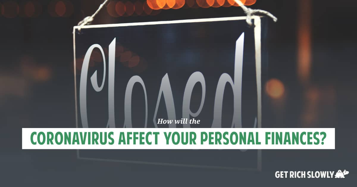 How will the coronavirus affect your personal finances?