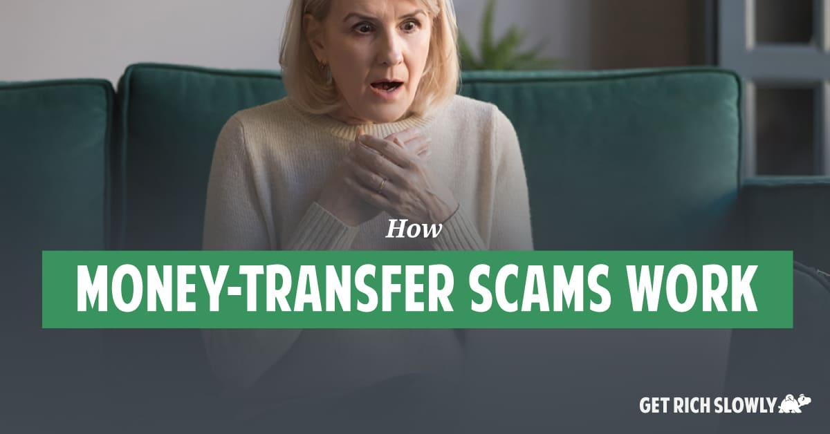 How money-transfer scams work