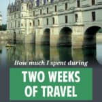 How much does it cost to travel in Europe? I recently tracked how much I spent during two weeks of touring. Turns out, it's cheaper than I thought.