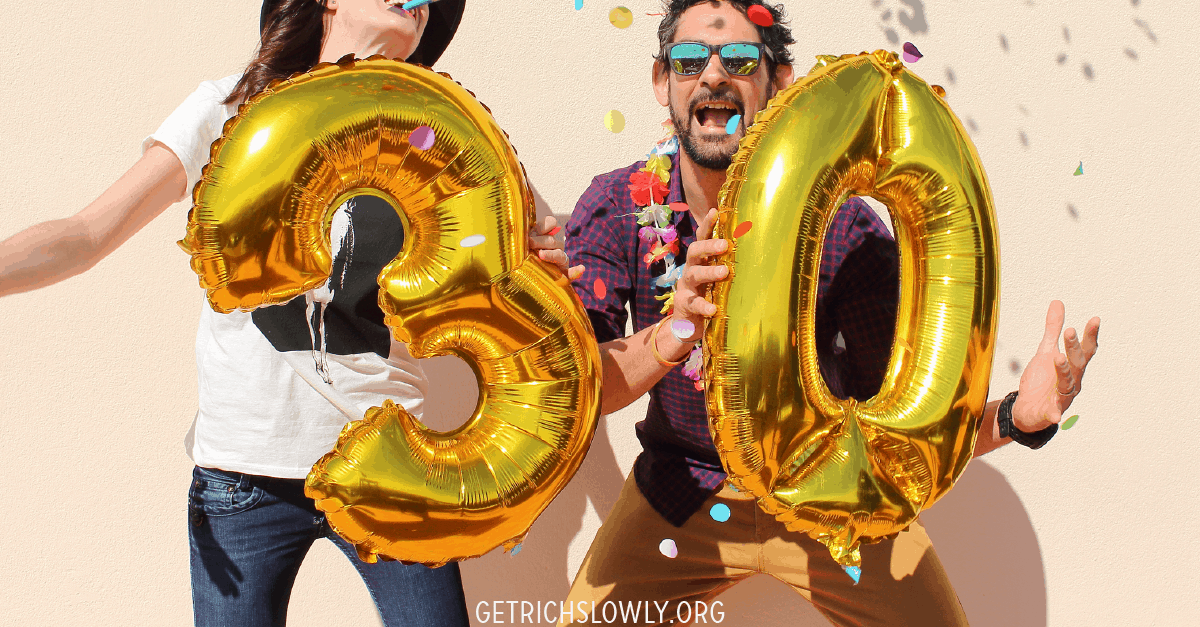 I'm 30! How Much Savings Should I Have? ~ Get Rich Slowly