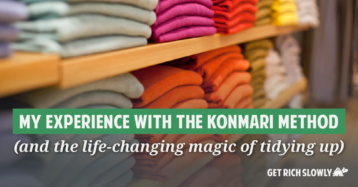 My experience with the KonMari method (and the life-changing magic of tidying up)